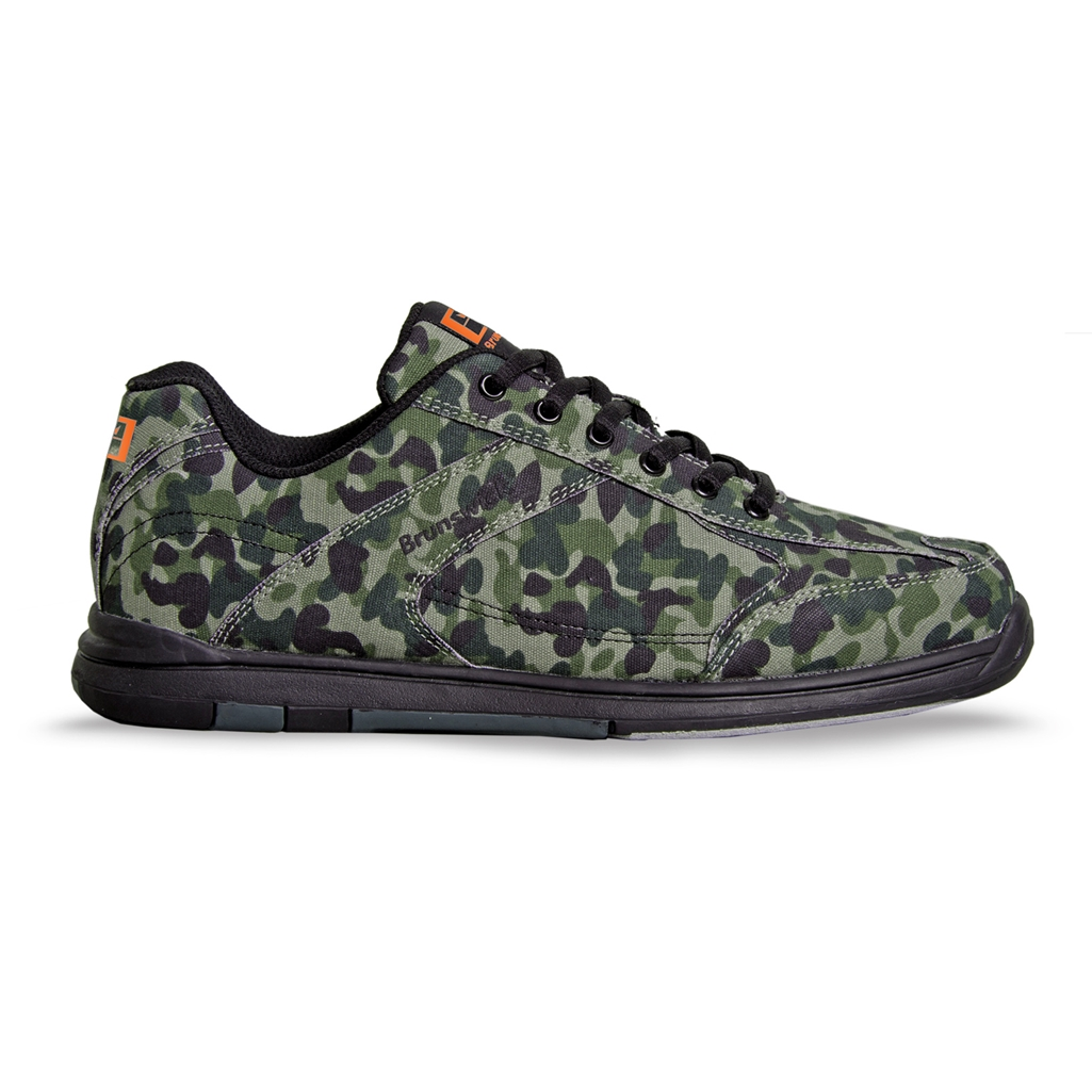 Brunswick Mens Flyer Bowling Shoes- Camo | Free Shipping ...