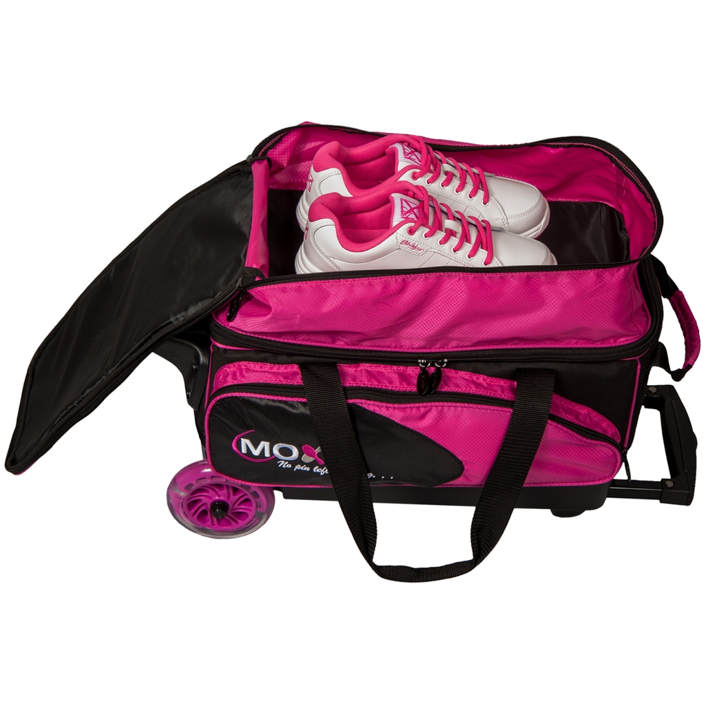 Moxy Blade Premium Double Roller Bowling Bag- Pink Black   Moxy Exclusive  Product   Free Shipping d31065c4aa