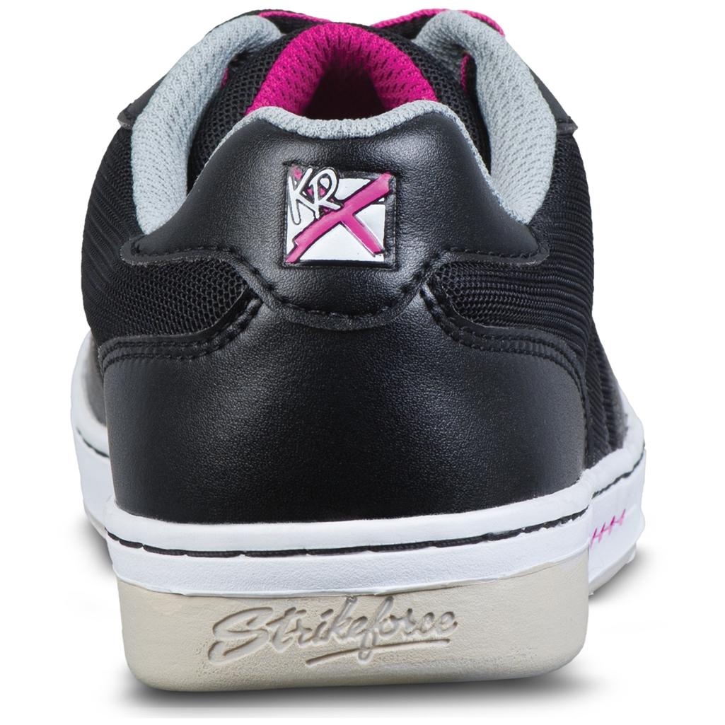 Black//Hot Pink KR Strikeforce Womens Opal Bowling Shoes