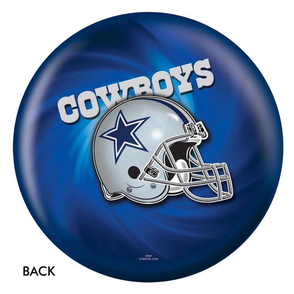 Dallas Cowboys Viz-A-Ball Bowling Ball 0de818c46