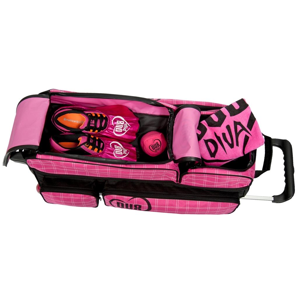 Dv8 Diva Deluxe 3 Ball Roller Bowling Bag Free Shipping 1 Internet Retailer