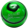 Comet Rubber Candlepin Bowling Ball- Green/Black/White