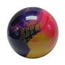 Candlepin Astro Starline Bowling Ball- Purple/Gold/Pink