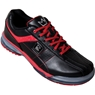 Brunswick Mens TPU-X Performance Bowling Shoes- Black/Red