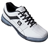 Brunswick Mens Limited Edition TPU-X Performance Bowling Shoes RH Wide- White/Black