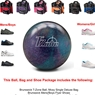 Brunswick T-Zone Deep Space Bowling Ball, KR Strikeforce Shoe and Moxy Bag Package