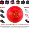 Moxy Exothermic Bowling Ball, KR Strikeforce Shoe and Moxy Bag Package