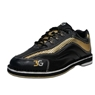 3G Mens Sport Ultra Bowling Shoes- Black/Gold Left Hand