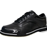 3G Mens Classic Pro Black Bowling Shoes- Right Hand