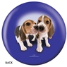 The Dog and Friends Bowling Ball- Beagle Design
