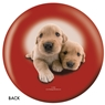 The Dog and Friends Bowling Ball- Golden Retriever