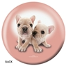 The Dog and Friends Bowling Ball- French Bulldog
