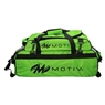 Motiv Ballistix Clear View Triple Tote Roller Bowling Bag with Shoe Bag