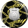 Police Department Yellow Tape Bowling Ball