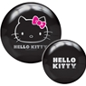 Brunswick Hello Kitty Black PRE-DRILLED Viz-A-Ball Bowling Ball