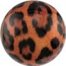 Brunswick Leopard PRE-DRILLED Viz-A-Ball Bowling Ball