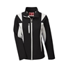 Team 365 Ladies Icon Colorblock Soft Shell Jacket