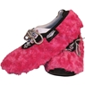 Master Fuzzy Fuchsia Ladies Shoe Covers- Large