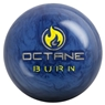 The Octane Burn from Motiv was designed for light to medium oil lanes and offers length with a powerful backend reaction. This ball has the Helix SFP Reactive coverstock and is finished with a 5500 grit LSP finish. This combination is clean with a good reaction to friction while being angular with a smooth transition and control.