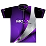 Moxy Dye-Sublimated Jersey- Purple/Black