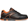 KR Strikeforce Mens Flyer Bowling Shoes- Black/Orange