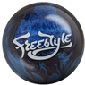 Motiv Freestyle Pearl Bowling Ball- Black/Blue