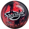 Motiv Freestyle Pearl Bowling Ball- Black/Pink
