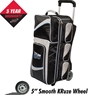 Team Columbia 300 Triple Deluxe Roller Bowling Bag