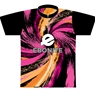 Ebonite Bowling Orange/Pink Swirl Dye-Sublimated Jersey
