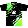 Ebonite Bowling Lime Grunge Dye-Sublimated Jersey