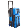 Brunswick Crown Triple Roller Bowling Bag- Royal