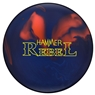 Hammer Rebel Solid Bowling Ball- Blue/Orange