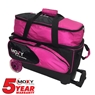 Moxy Blade Premium Double Roller Bowling Bag- Pink/Black