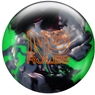 Roto Grip No Rules Pearl Bowling Ball- Onyx/Neon Green/Silver