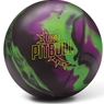DV8 Pitbull Bowling Ball- Black/Violet/Neon Green