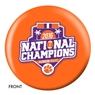 Clemson Tigers 2016 National Champions Bowling Ball