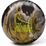 Brunswick True Nirvana Bowling Ball- Black/Chrome/Gold Pearl