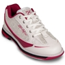 KR Strikeforce Womens Curve Bowling Shoes- White/Scarlet/Paisley