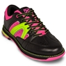 KR Strikeforce Womens Quest Bowling Shoes- Black/Pink/Yellow