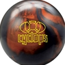 Radical Cyclops Bowling Ball- Black Solid/Copper Pearl