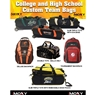 Moxy Customized Collegiate and High School Bowling Bags