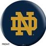 Notre Dame Fighting Irish Bowling Ball