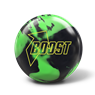 900 Global Boost Bowling Ball - Black/Green Pearl