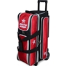 Roto Grip 3 Ball Roller Bowling Bag- Black/Red