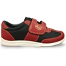 Linds Unisex Hawk Rental Bowling Shoes Red/Black- Hook and Loop
