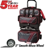 KR Lane Rover 4 Ball Bowling Bag- Grey/Red/Black