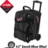 Columbia 300 Icon Double Roller Bowling Bag-Black