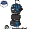Ebonite Equinox 6 Ball Roller Bowling Bag- Black/Royal