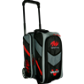 Motiv Vault 2 Ball Roller Bowling Bag- Black