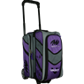 Motiv Vault 2 Ball Roller Bowling Bag- Purple